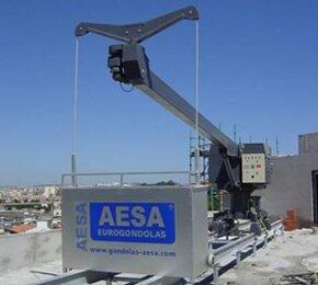 Фасадный подъемник AESA